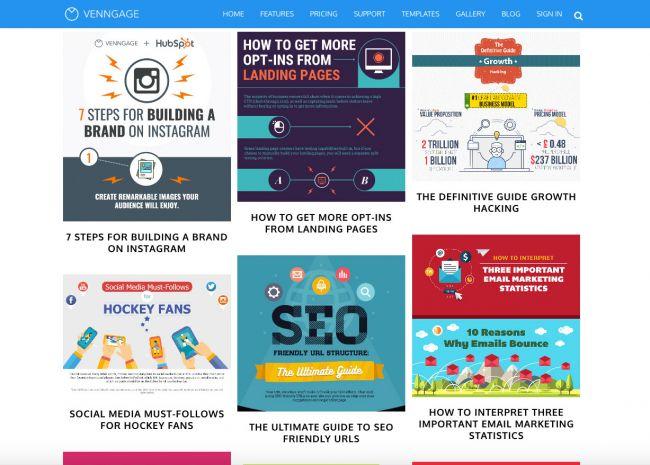 Thiết kế Infographic chuyên nghiệp với 8 công cụ miễn phí - Venngage.